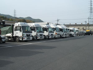 輸送事業トラック2